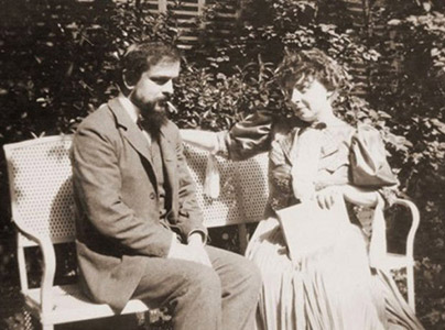 Claude Debussy and Emma Bardoc
